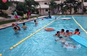 English Fella 宿霧語言學校-游泳池
