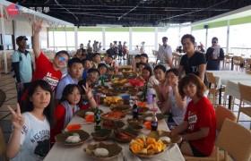 全英遊學團-海上餐廳吃午餐