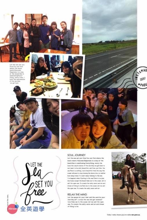 ▲Monol 語言學校收穫最多的除了英文進步,還有結交日本、韓國⋯不同國籍的朋友,認識多元文化!
