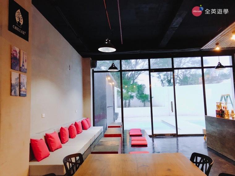 EV 語言學校宿霧親子遊學推薦斯巴達課程_咖啡廳4