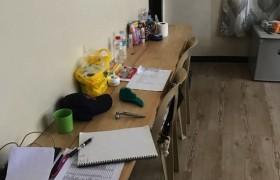 《A&J e-EduDC 語言學校》學生宿舍三人房