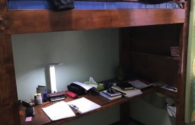 《A&J e-EduDC 語言學校》學生宿舍單人房