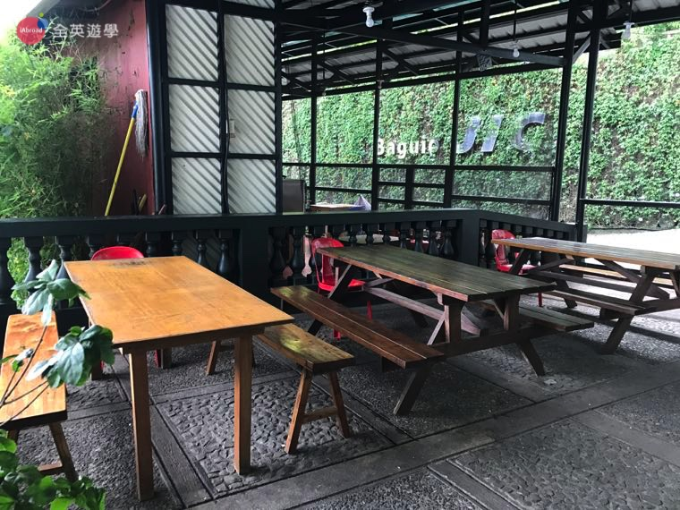 ▲餐廳有戶外用餐區,是不是很有情調