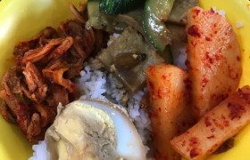 《Baguio JIC 語言學校》早餐菜色