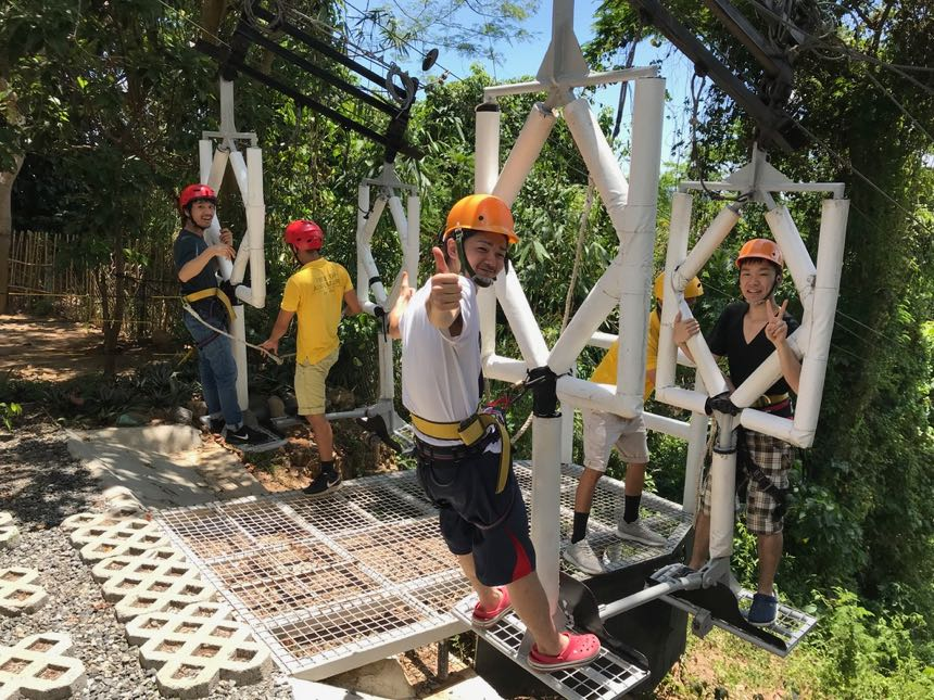▲ 克拉克 Tree Top 是一個森林冒險樂園,裡面有一些設施例如高空吊索、空中漫步...一類的設施