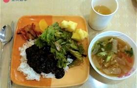 CNS 2 碧瑤語言學校,三餐菜色