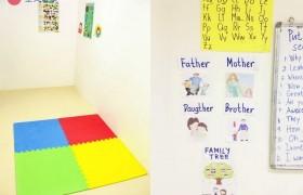 《First English 語言學校》孩童課程專用教室
