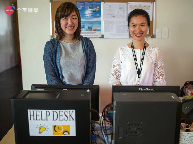 《IDEA Academia 語言學校》有各國經理可以協助學生喔!