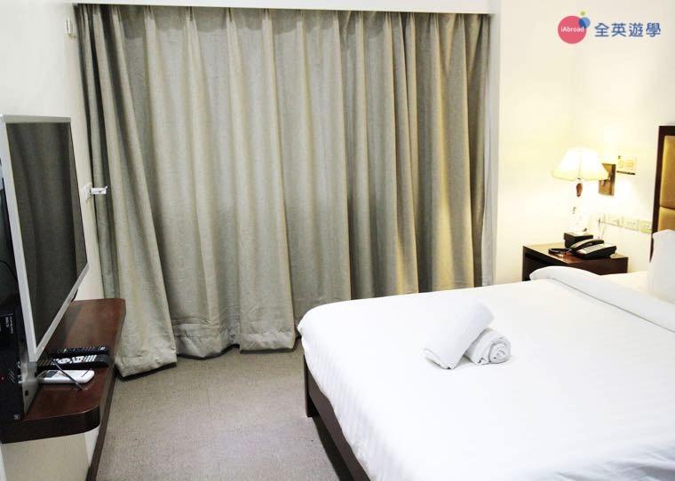 《IDEA Cebu 語言學校》校外宿舍 BIG HOTEL 飯店,提供單人房&雙人房