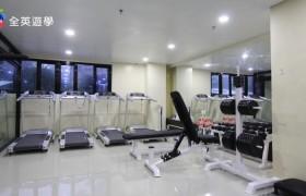 PINES 碧瑤推薦語言學校新校區,免費健身房咖啡廳