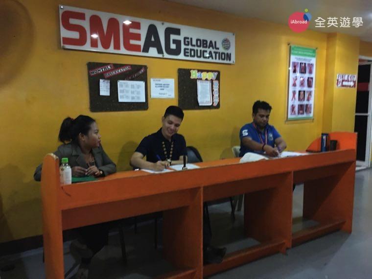 ▲ SMEAG 學校多益校區,每層都有老師駐守,負責學生的出缺席,學生有任何問題也可以找老師