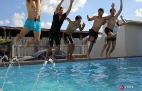 EG 戶外游泳池!Summer time!