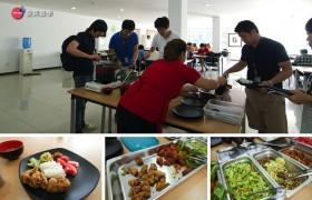 EG 學生餐廳的食物獲得學生一致好評,想吃吃看嗎?
