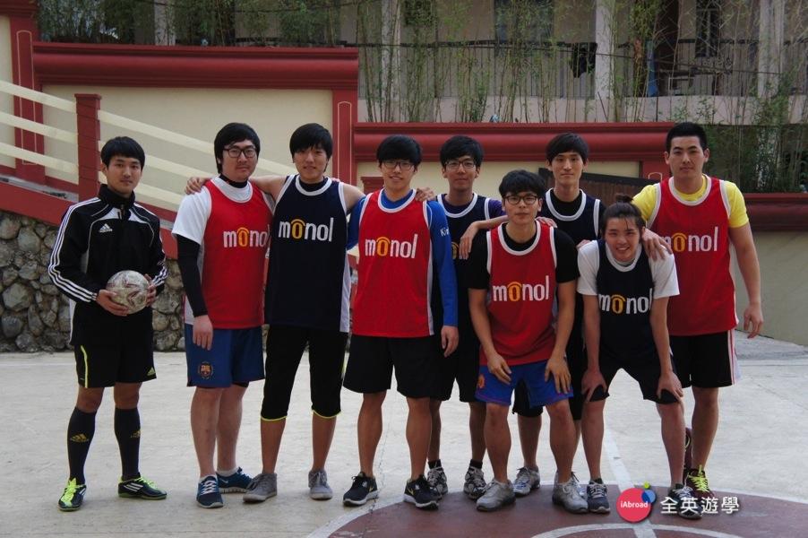 《MONOL 語言學校》籃球友誼賽