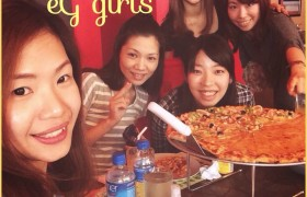 Gilrs night! Pizza Party!