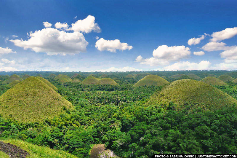 宿霧薄荷島的巧克力山好可愛 The Chocolate Hills of Bohol