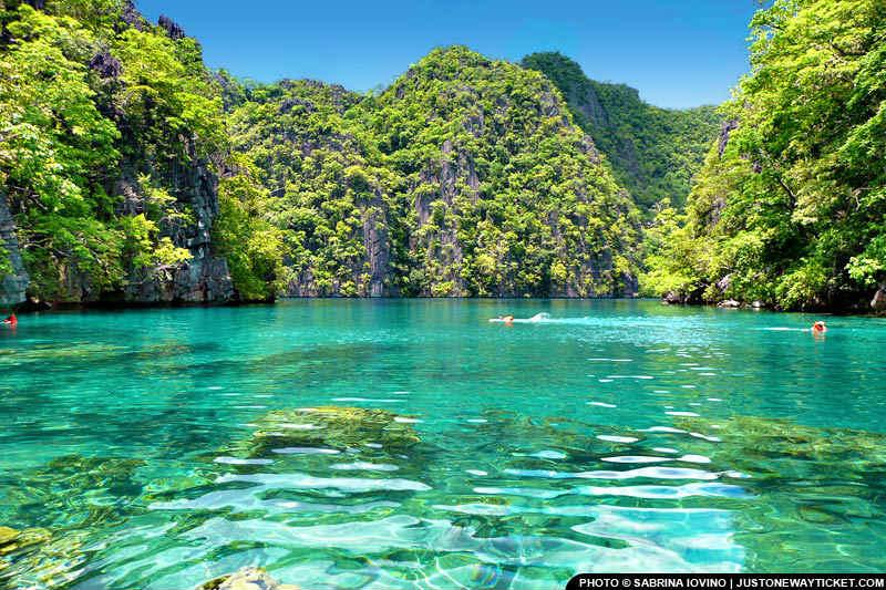 巴拉望科隆有菲律賓最乾淨的湖泊 Kayangan Lake in Coron