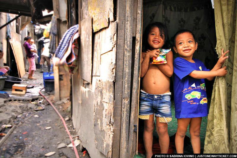 旅途中,也有機會看到菲律賓的底層生活 Also, open your eyes (and heart) to PH realities