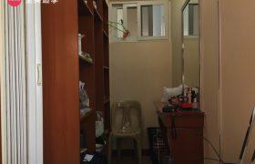 《Wales 語言學校》單人房 (Single Room) ,每間都有獨立衛浴&陽台&冰箱喔 ~