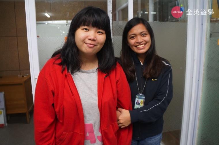 《Wales 學生的一天》全英學生 Wendy 與菲律賓老師感情好好喔!都捨不得回台灣了!
