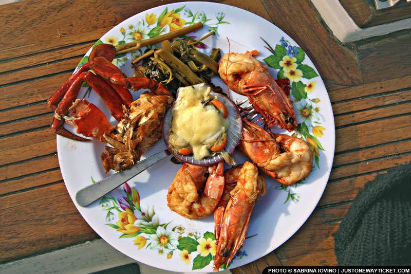 菲律賓有新鮮的海鮮&魚 Fresh, fresher, seafood