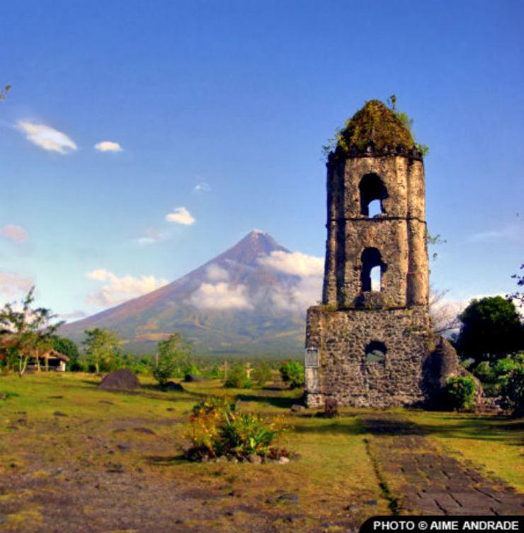 被人形容是菲律賓版的富士山 馬榮火山Mayon Volcano in Legazpi