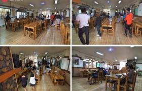 TALK Yangco 校區的學生餐廳位於一樓,乾淨明亮