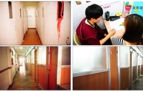 一對一教室走廊與上課實況