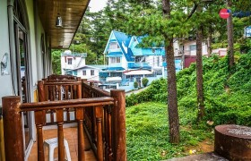 TALK Yangco 宿舍陽台風景