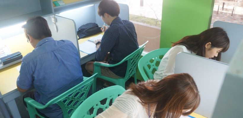 《小胖菲律賓遊學日記 Day3 – CIP語言學校入學測驗》考題類似多益,英文題目只念一遍,睡飽精神好才來考試才是王道