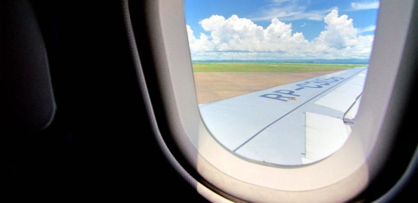 《小胖菲律賓遊學日記 Day1 – 出發》 抵達馬尼拉機場,這裡超夏天的!終於擺脫台灣又濕又冷的天氣!喔耶!