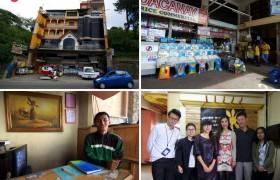 《TALK 語言學校》全英遊學顧問參訪 TALK 語言學校 (E&E 多益校區),學校一樓有雜貨店,購買生活用品與零食很方便,大門還有24小時警衛