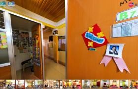 TALK E&E 教室走廊