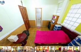 《TALK 語言學校》TALK E&E多益校區雙人房 (床鋪、桌椅、衣櫥、獨立衛浴)