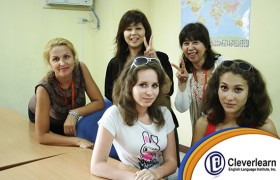 CELI 俄國女學生合照