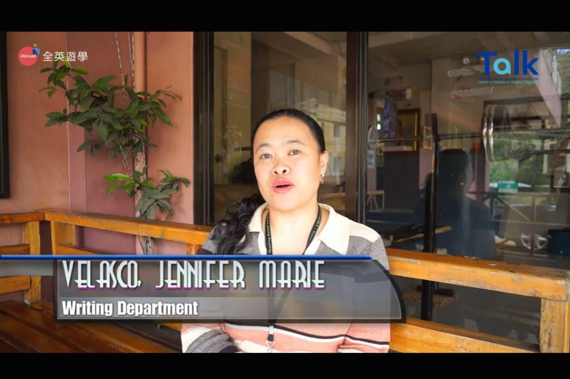 《 TALK 語言學校》寫作老師 Jennifer (E&E 多益校區)
