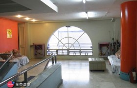 3D語言學校_學生沙發休息區