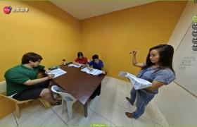 SME語言學校教室上課實況-11