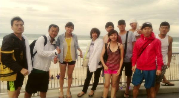 澳洲打工度假+菲律賓遊學達人彎彎_澳洲黃金海岸