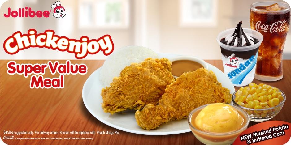 菲律賓的麥當勞 Jollibee 快樂蜂速食店