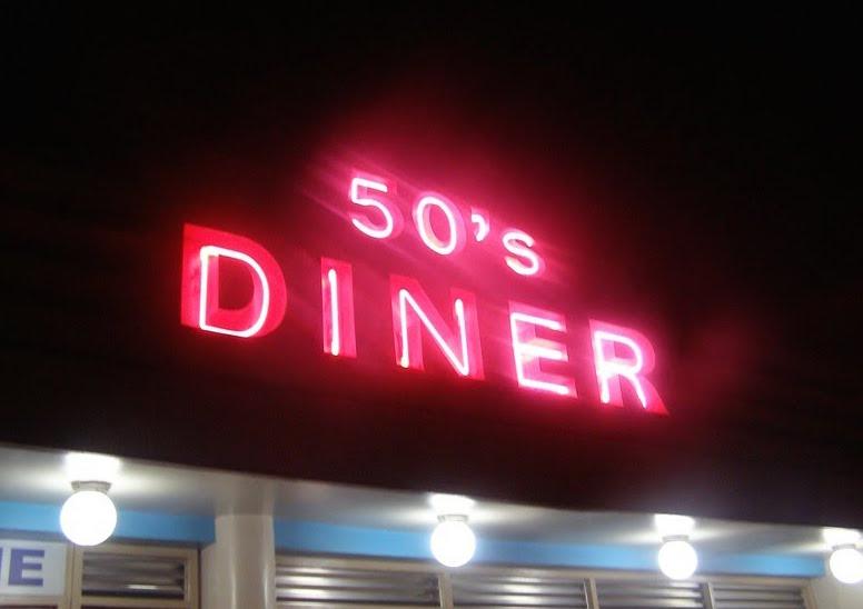 碧瑤景點餐廳推薦 50's Dinner 美式復古餐廳,菲律賓遊學超好玩