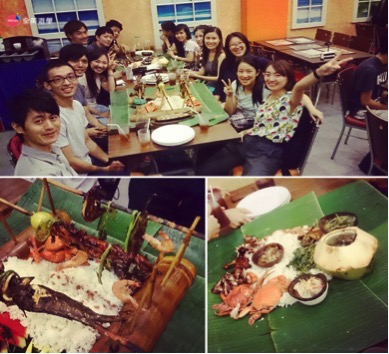CIP 克拉克語言學校聚餐活動,外師美式自由學習風格_全英菲律賓遊學心得分享
