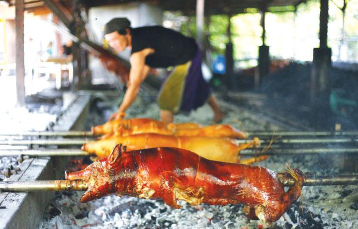菲律賓旅遊&遊學必吃必買行程,宿霧道地烤豬 Lechon,連CNN安東尼波登都推薦