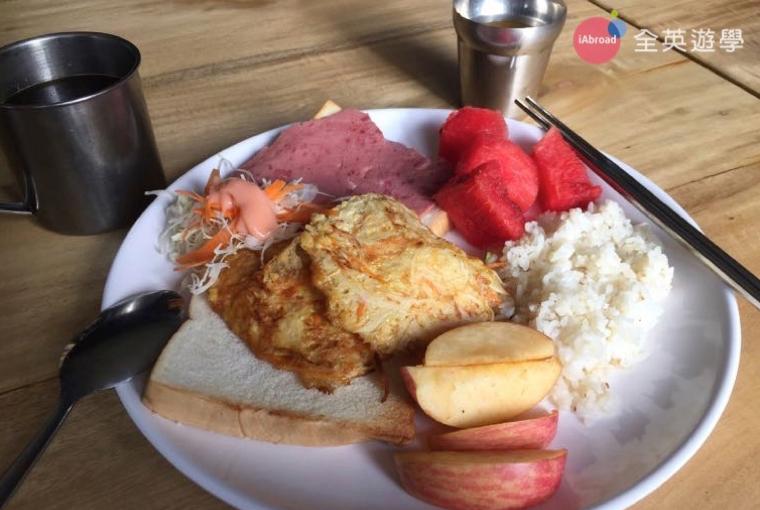 BECI 碧瑤語言學校學生餐廳-早餐