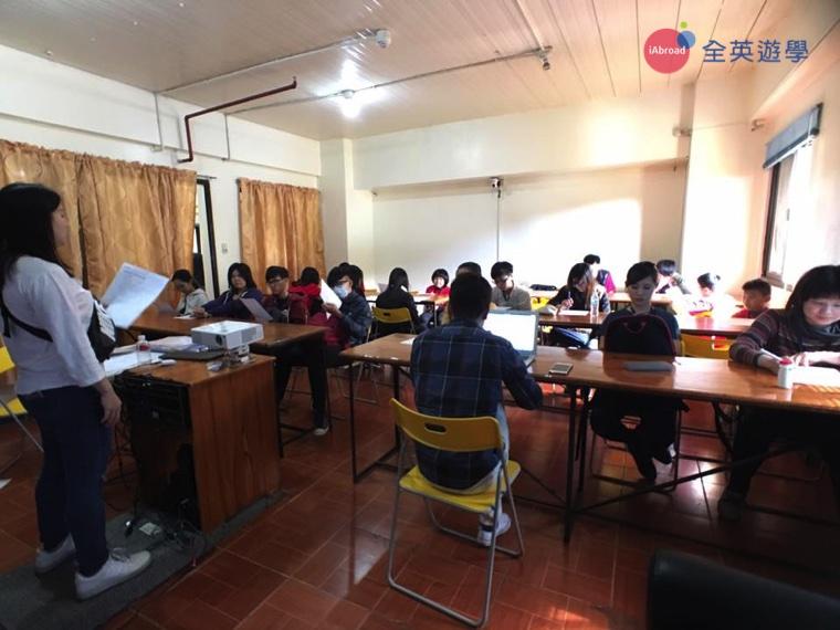 全英菲律賓遊學團心得,到校第一天入學測驗-8