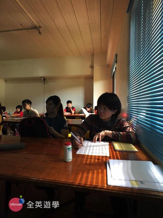 全英菲律賓遊學團心得,到校第一天入學測驗-9