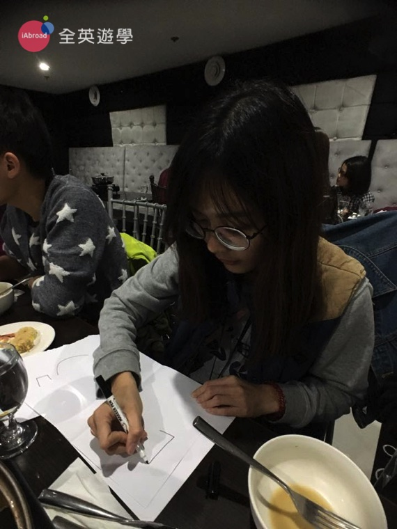 全英寒假遊學團日記 - 除夕團圓火鍋-8