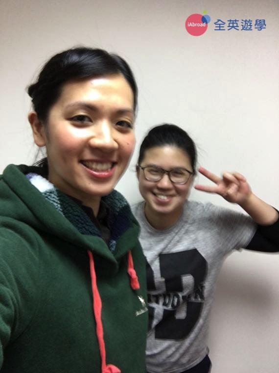 ▲ 終於從 CNS2 畢業,順利考到雅思目標成績啦!歐耶!回來台灣找我的代辦全英遊學顧問 Inki