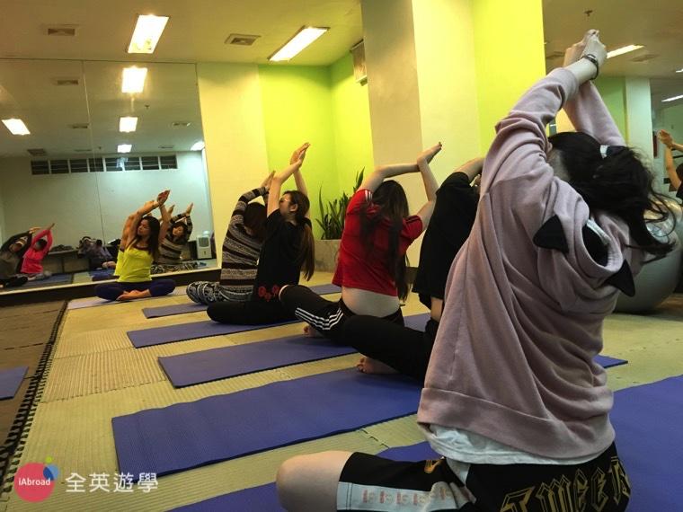▲ MONOL 語言學校,晚上提供免費瑜珈課!紓解你的讀書壓力!