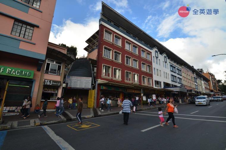 ▲ 碧瑤街的街景